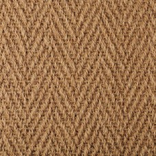 Coir Herringbone Natural Carpet 4603 Warm Gold
