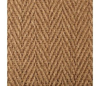 Coir Herringbone Natural Carpet 4603 Warm Gold