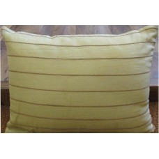 Zeba Lime Green Striped Cushion