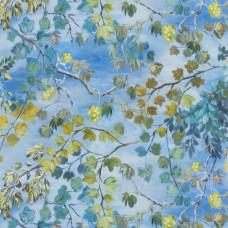 Giardino Segreto Cornflower an elegant design of tree branches