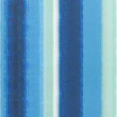 Murnau cobalt digitally printed cotton fabric