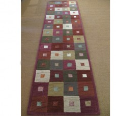 GAIL MULTICOLOURED ZEBA HALLWAY RUNNER