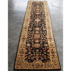 TRADITIONAL STAIR & HALLWAY RUNNER BLACK GOLD